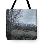 Grand Tetons Landscape Tote Bag