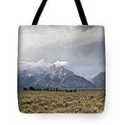 Grand Thunder - Grand Teton National Park - Wyoming Tote Bag
