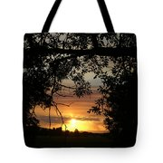 Grand Valley Sunset Tote Bag