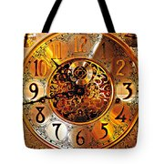 Grandfather Time Hdr Tote Bag by Frozen in Time Fine Art Photography