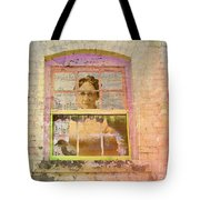 Grandma At The Window Tote Bag