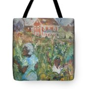 Grandma Higgins Corn Harvest Tote Bag
