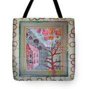 Grandma In A Tree - Framed Tote Bag