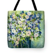 Grandma's Flowers Tote Bag