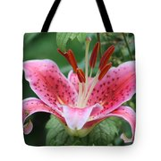 Grandma's Lily Tote Bag