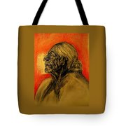 Grandmother Tells The Stories Tote Bag