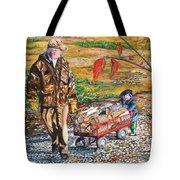 Grandpa's Helper Tote Bag
