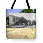 Grange Hall On The Commons In Little Compton Ri Tote Bag
