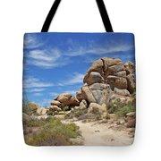 Granite Boulders In The Desert Tote Bag
