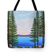 Granite Boulders Lake Tahoe Tote Bag