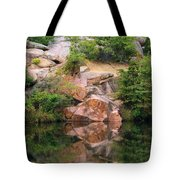 Granite Quarry And Reflections In The Missouri Ozarks Tote Bag