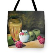Granny's Apples Tote Bag by Lilibeth Andre