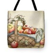 Granny's Basket Tote Bag
