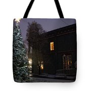 Grants Pass Town Center Christmas Tree Tote Bag
