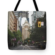 Granville Street Tote Bag