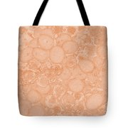 Grape Cell Abstract Tote Bag