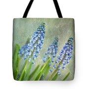 Grape Hyacinths Tote Bag