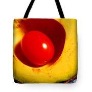 Grape Tomato And Avocado Tote Bag