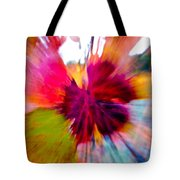 Grape Vine Burst Tote Bag