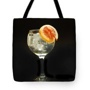 Grapefruit Gin Tonic Tote Bag