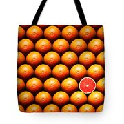 Grapefruit Slice Between Group Tote Bag