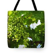 Grapes In A Vineyard Tote Bag