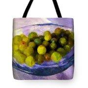 Grapes On The Half Shell Tote Bag