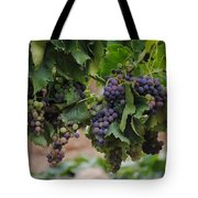 Grapes On Vine Tote Bag