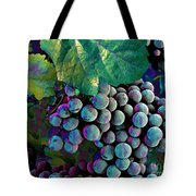 Grapes Painterly Tote Bag