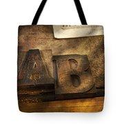 Graphic Artist - Ab Tote Bag