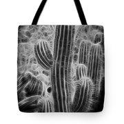 Graphic Cactus Tote Bag
