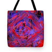 Graphic Explosion Tote Bag