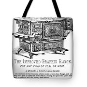 Graphic Range, 1875 Tote Bag