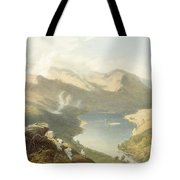 Grasmere From Langdale Fell, From The Tote Bag