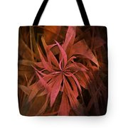 Grass Abstract - Fire Tote Bag
