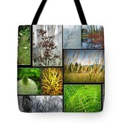 Grass Collage Variety Tote Bag