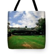 Grass Courts At The Hall Of Fame Tote Bag