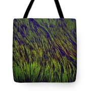 Grass In The Lake Tote Bag