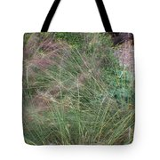 Grass In The Wind Tote Bag