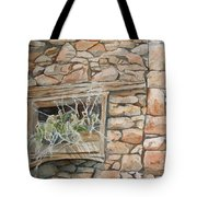 Grass In The Window Tote Bag