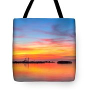 Grass Islands Of The Gulf Tote Bag