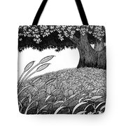 Grass Of The Earth Tote Bag