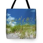 Grass On The Beach, Bill Baggs Cape Tote Bag
