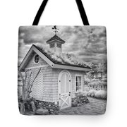 Grass Roof Shed Tote Bag