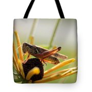 Grasshopper Antenna Down Tote Bag