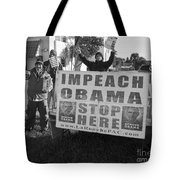 Grassroots Impeach Obama Movement Tote Bag