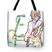 Grateful Dead - Bob Weir - Looks Like Rain Tote Bag
