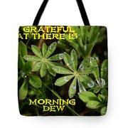Grateful Dew Tote Bag