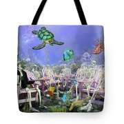 Grateful Friends Tote Bag by Betsy Knapp