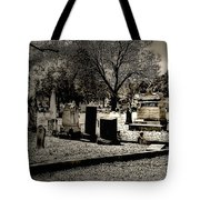 Grave Consequences Tote Bag